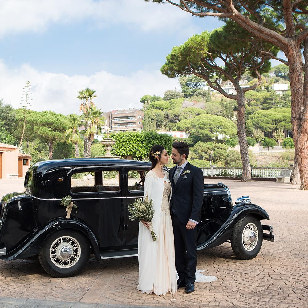 Vestido de novia estilo griego