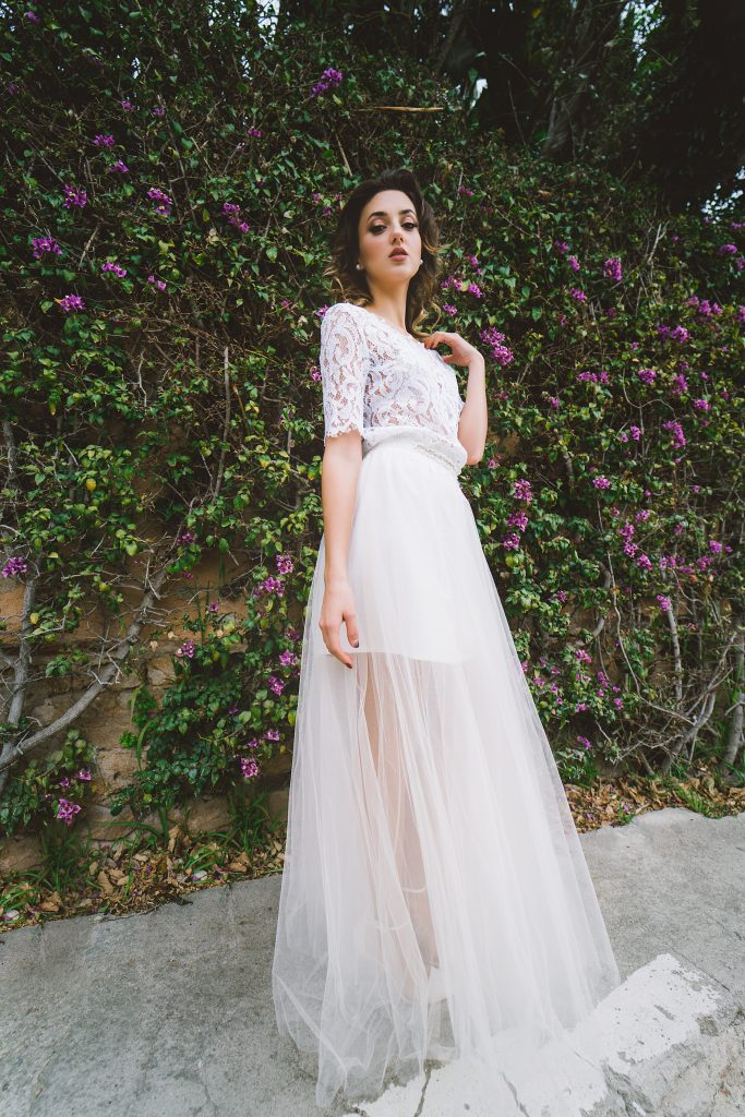 Falda de tul novia o fiesta