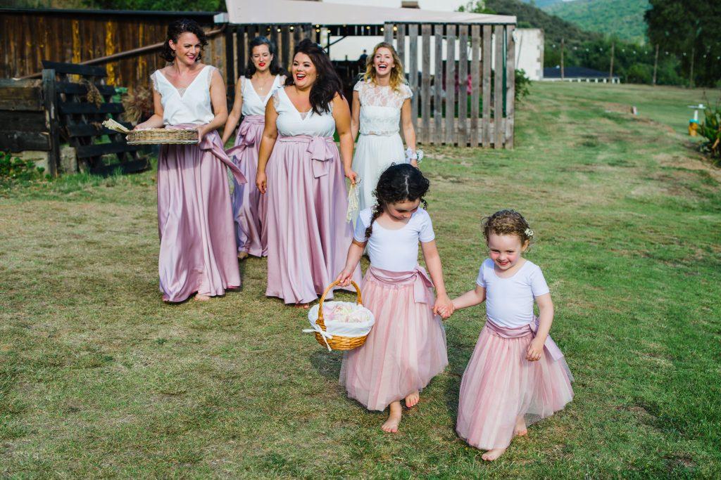 damas de honor vestidos