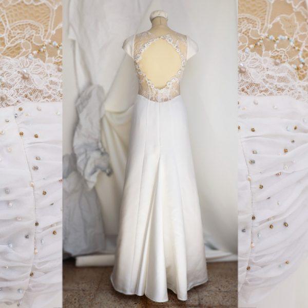 Vestido de novia corte sirena a medida