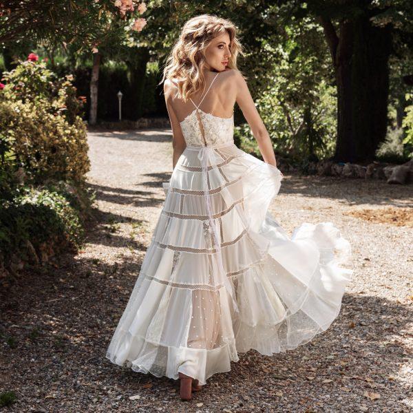 vestido de novia sostenible